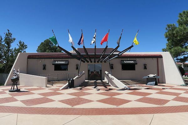 Outside of Unser Racing Museum