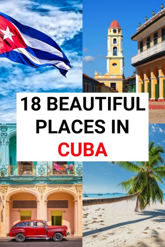 There are so many beautiful places in Cuba! Our Cuba travel guide has a Cuba itinerary to suit you, packed with Cuba tips and tons of things to do in Cuba #cubatravel #cuba #cubatips