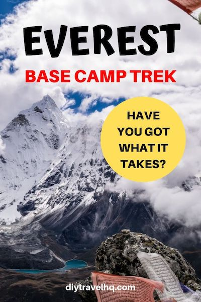 Just how hard is the Everest Base Camp trek in Nepal? Find out the top 18 things you need to know and decide for yourself if you've got what it takes #everest #everestbasecamp #nepaltravel