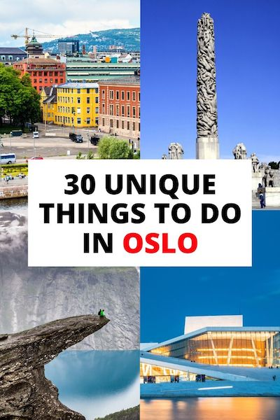 There are so many things to do in Oslo, Norway in winter or summer! Check out our Oslo travel guide and find 30 of the best attractions that won't break the bank #oslo #norway #oslotravel #norwaytravel