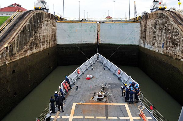 Gatun locks is one of the top things to do in Panama