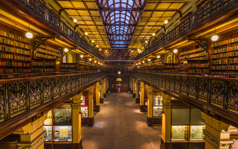 Spectacular State library - best things to do in Adelaide
