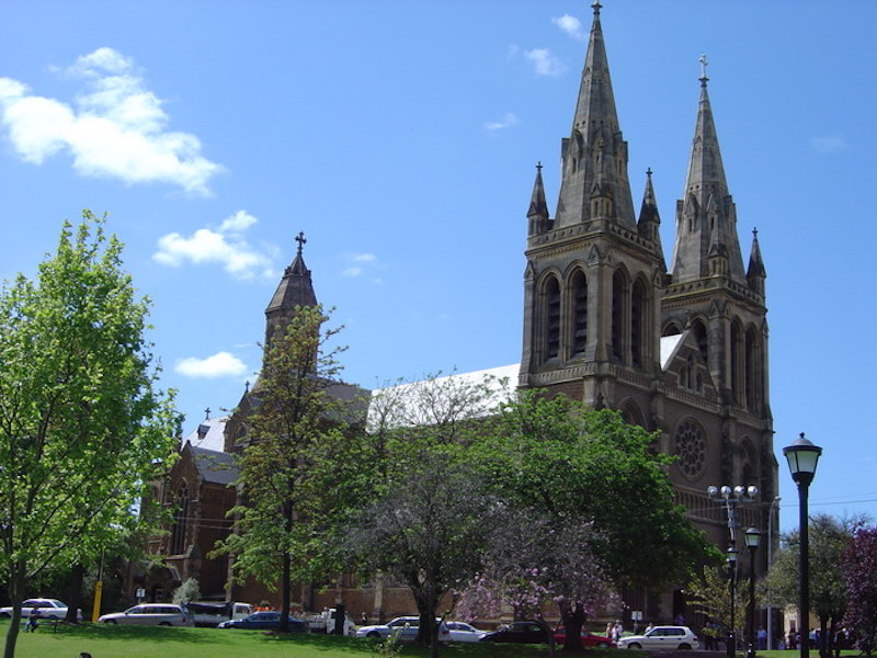 View of St Peter's Cathedral