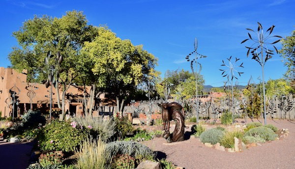 Sculpture Garden on Canyon Road is one of the top things to do in Santa Fe