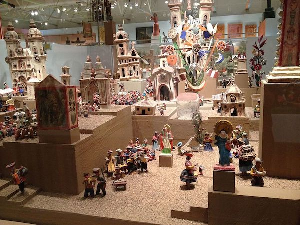 Figurines at Museum of International Folk Art