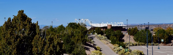 Santa Fe Opera House from a distance