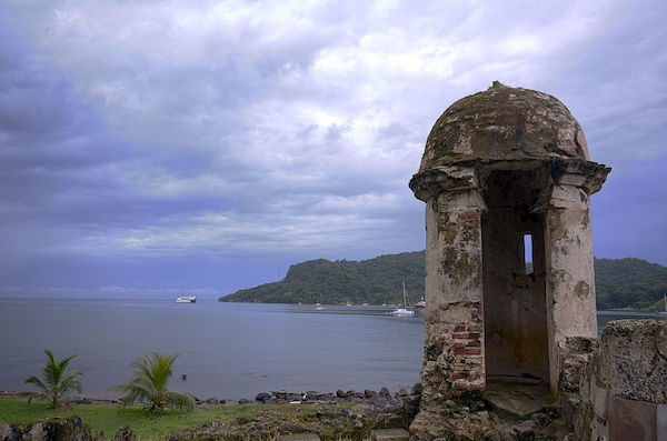 Portobello ruins is one of the best places to visit in Panama