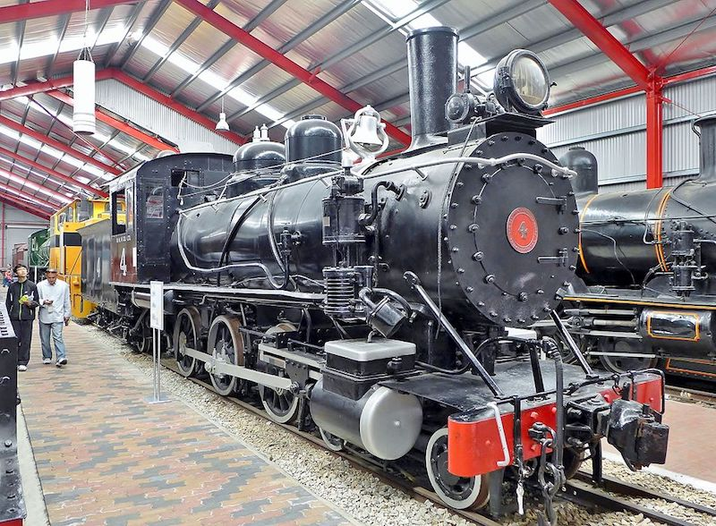 locomotive at Railway Museum - Places to go in Adelaide