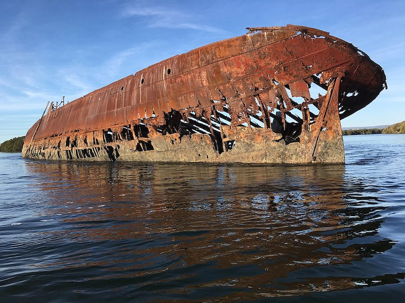 Shipwreck in water - What to do in Adelaide