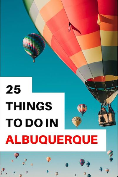 You can't miss the Albuquerque Balloon Festival but there are many other things to do in Albuquerque New Mexico. From the old town to downtown find out where to go and what to do in Albuquerque #abq #newmexico #albuquerque #usroadtrip #diytravel