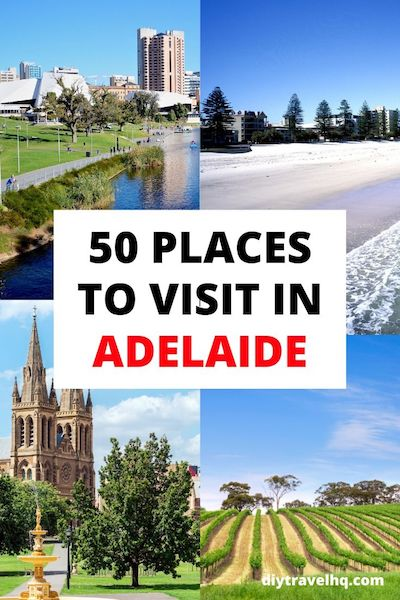 Adelaide, Australia is hugely underrated! Check out our Adelaide travel guide and find out the 50 best things to do in Adelaide #australia #adelaide