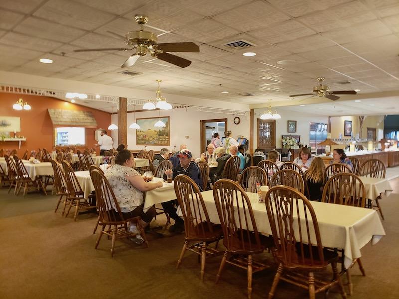 Rustic Amish Country Ohio restaurant