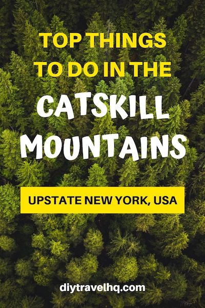 Looking for a weekend getaway from NYC? There are many things to do in the Catskills mountains from food to hikes. Check out our 3 day Catskills itinerary for the best of what to do and where to go #catskills #nyctravel #diytravel