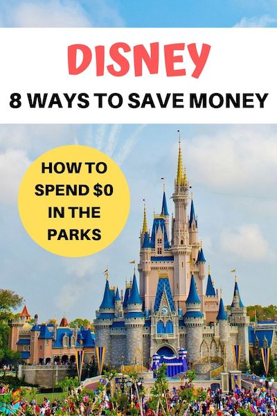 If you've bought your Disney tickets in advance visiting Disney doesn't have to cost you a cent more! Find out the best Disney hacks and secrets to the cheapest ever DIY Disney vacation #disney #disneyworld #disneyhacks #diytravel