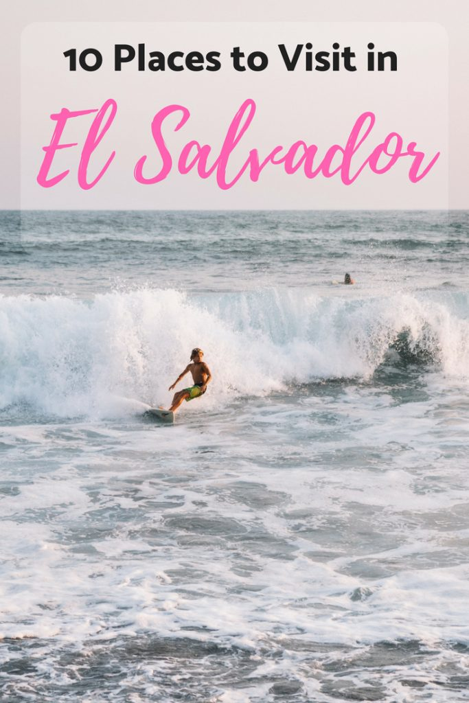 El Salvador has some of the best surf and beaches in the world. Find out the best things to do in El Salvador and see why El Salvador is the most beautiful country in Central America!