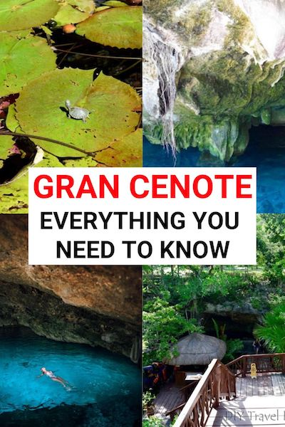 Gran Cenote, Tulum is one of the best things to do in Mexico. Check out our ultimate guide to El Gran Cenote, Tulum to help you plan your trip #grancenote #mexico #mexicotravel