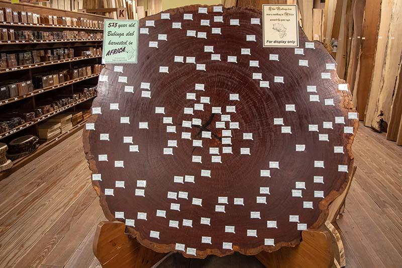 Keim Lumber Company Bubinga Slab Exotic Wood Varieties