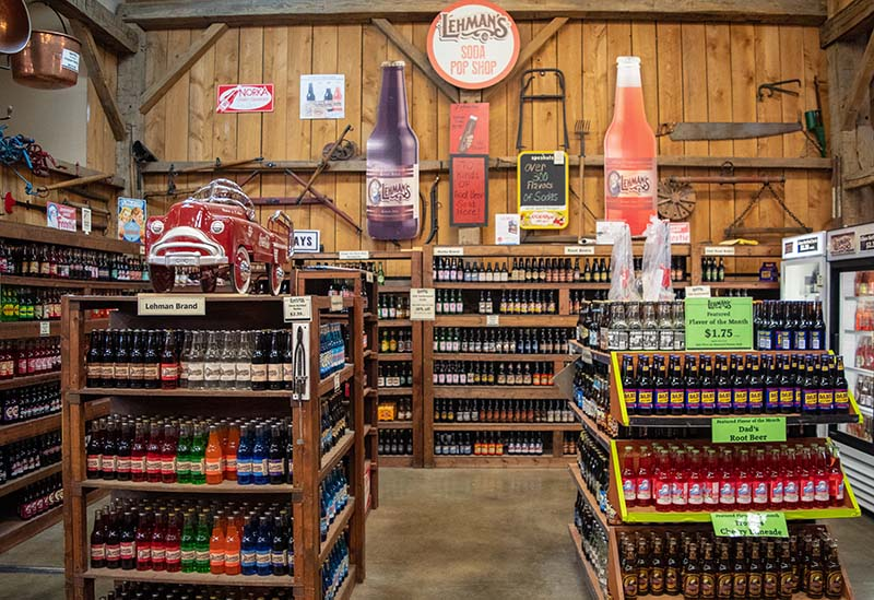 Lehman's Hardware Store Soda Collection