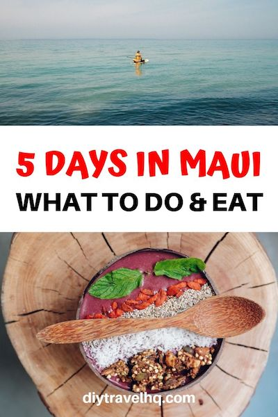 Planning a Maui Hawaii vacation? There are many things to do in Maui from food and photography to beaches and hikes. Check out our 5 day Maui itinerary for more Hawaii ideas! #maui #mauitravel #hawaii #diytravelhq