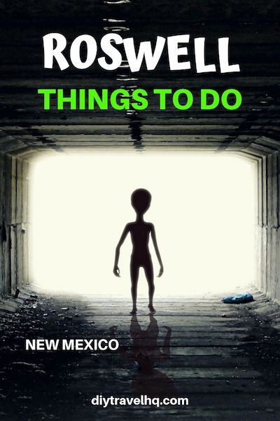 Planning a visit to Area 51 in New Mexico? Don't miss these other essential things to do in Roswell, New Mexico. Check out our post for more New Mexico travel tips and start planning your New Mexico road trip! #roswell #newmexicoroadtrip #diytravel