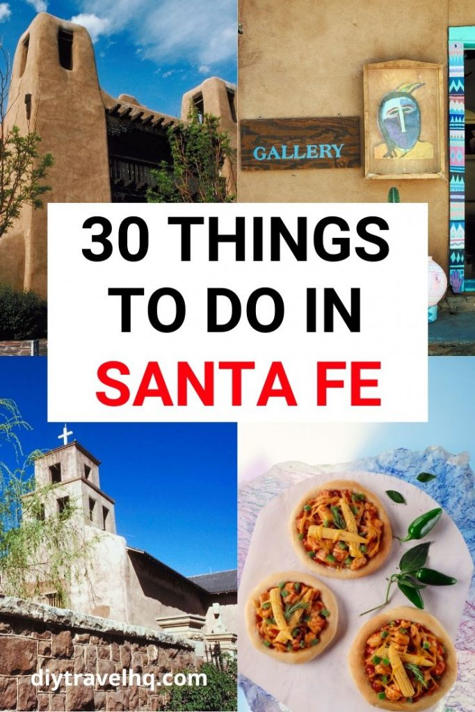 There are so many things to do in Santa Fe, New Mexico. Check out our Santa Fe travel guide for a huge list of the best attractions restaurants and hiking in this charming city #santafe #newmexico #usatravel
