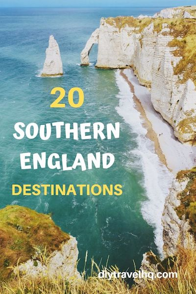 Want to go on a Southern England road trip? Check out our Southern England itinerary & find out the most beautiful places in Southern England! #southernengland #englandtravel #uktravel #diytravel