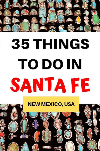 Looking for Santa Fe, New Mexico travel tips?! We've got a list of our favourite things to do in Santa Fe, Santa Fe restaurants, Santa Fe photography spots and much more! #santafe #newmexico #santafe #usroadtrip #diytravel