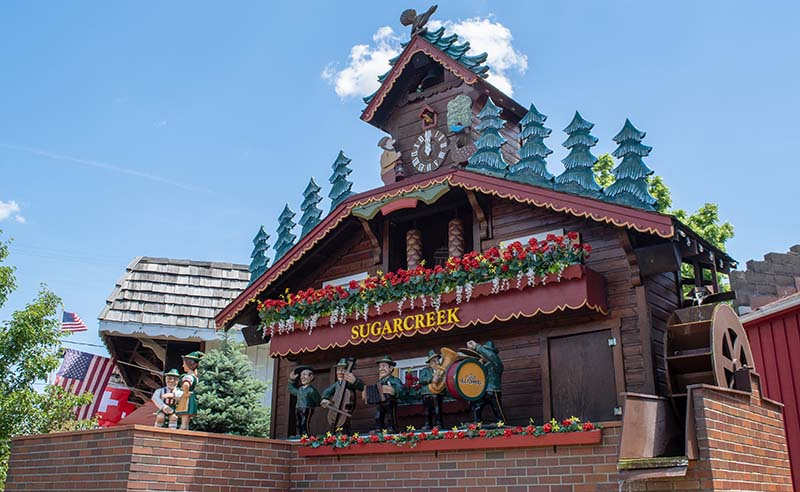 World's Largest Cuckoo Clock Sugarcreek Ohio