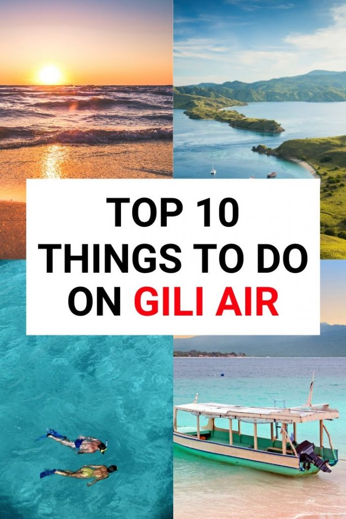 From diving to beach bars, there are so many things to do in Gili Air! Check out our Gili Air travel guide and find out why it's the best Gili Island in Indonesia #giliair #indonesia #asiatravel