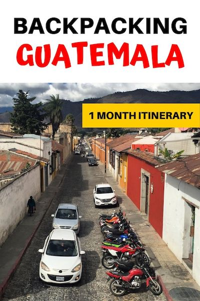 Traveling Guatemala on a budget? Check out our 1 month Guatemala itinerary with the best Guatemala destinations and things to do in Guatemala for backpackers. Find out our top Guatemala travel tips and start planning your trip! Central America travel #diytravel