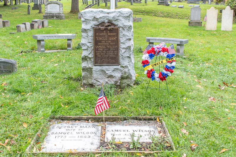 Things to Do in Troy NY Uncle Sam Wilson Gravesite Oakwood Cemetery