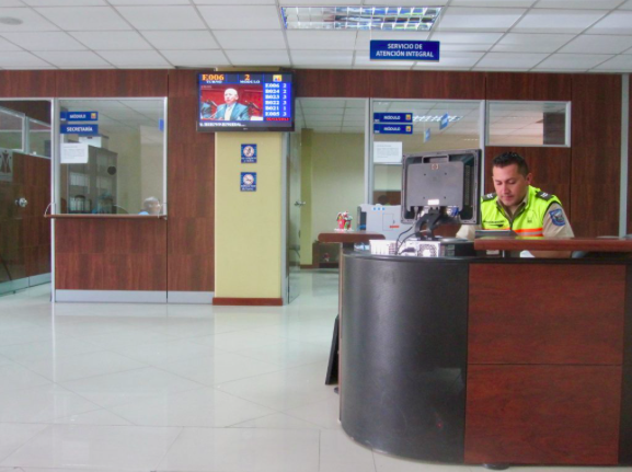 Police station in Ecuador for filing travel insurance claim