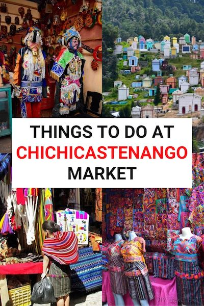 Chichicastenango market is one of the top places to visit in Guatemala - but it offers more than just shopping. Find out what else there is to do at Chichicastenango #guatemala #chichi #chichicastenango