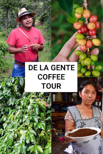 Taking the De La Gente coffee tour is one of the best things to do in Antigua, Guatemala. Check out our post and find out all about this unique Guatemala travel experience #antiguaguatemala #guatemala #delagente #coffeetour