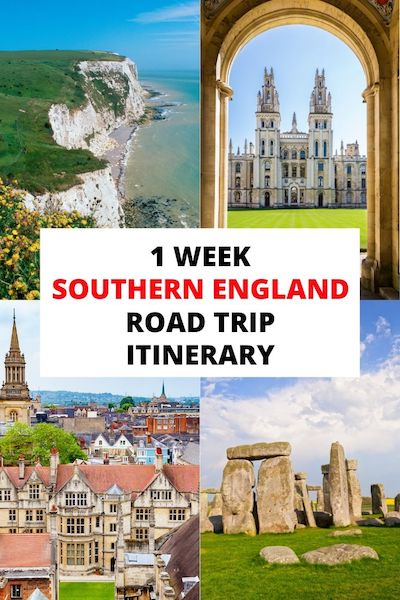 Planning a Southern England road trip? Check out our Southern England travel guide and find out the top 20 places to add to your itinerary! #southernengland #uktravel #englandtravel