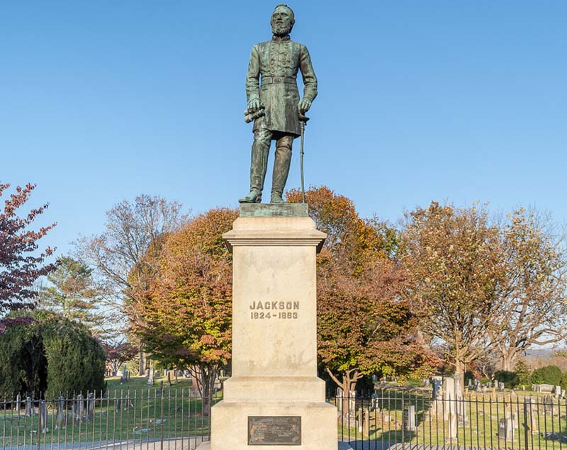Stonewall Jackson Grave Lexington VA