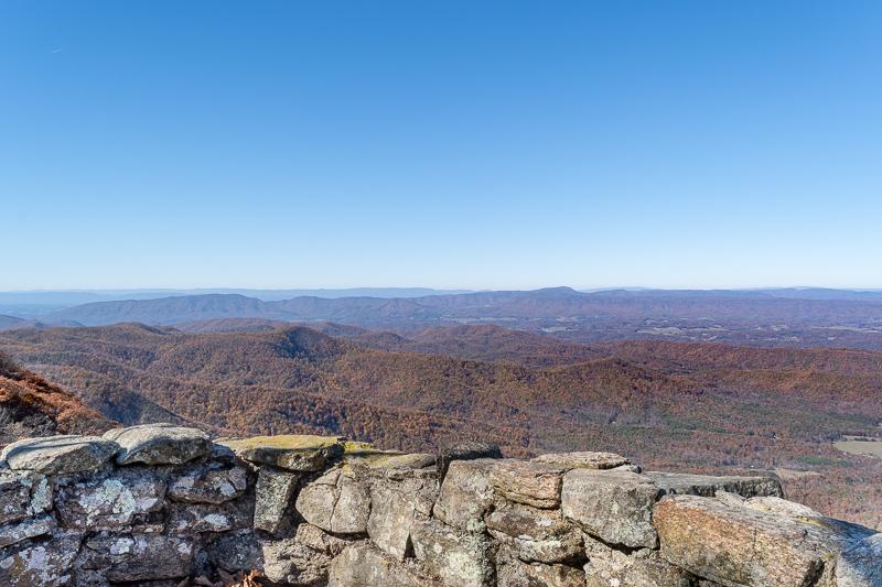 Thunder Ridge Overlook Blue Ridge Parkway Virginia