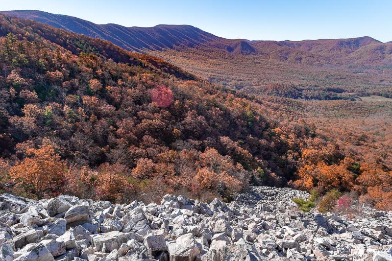Devil's Marbleyard Natural Bridge Virginia