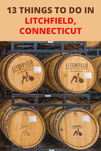 Looking to travel to Litchfield, Connecticut? Check out our post with the ultimate list of historical, natural, religious and alcoholic attractions - for a small town there are loads of things to do in Litchfield Country, CT just waiting to be explored! #litchfield #connecticut #usatravel #diytravel
