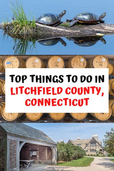From museums and churches to hiking trails and distilleries there are many awesome things to do in Litchfield, Connecticut! Check out our post for a list of the top attractions and start planning your trip! #litchfieldct #cttravel #usatravel #diytravel
