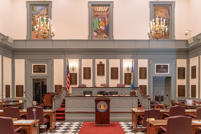 Delaware Legislative Hall Capitol Building Chamber