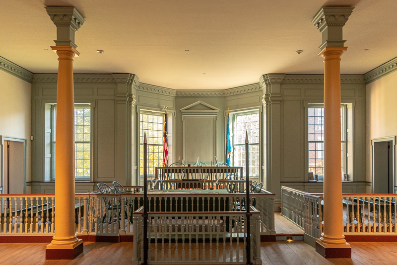 Delaware Old State House Courtroom