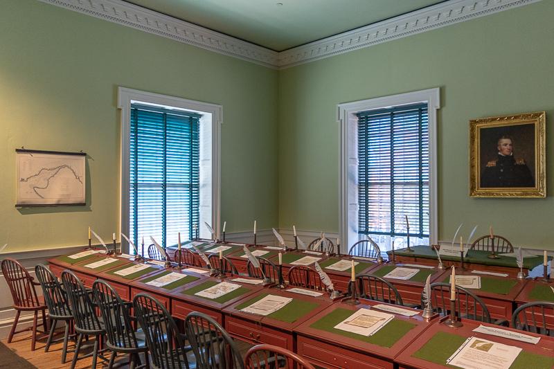 Delaware Old State House Legislative Chamber