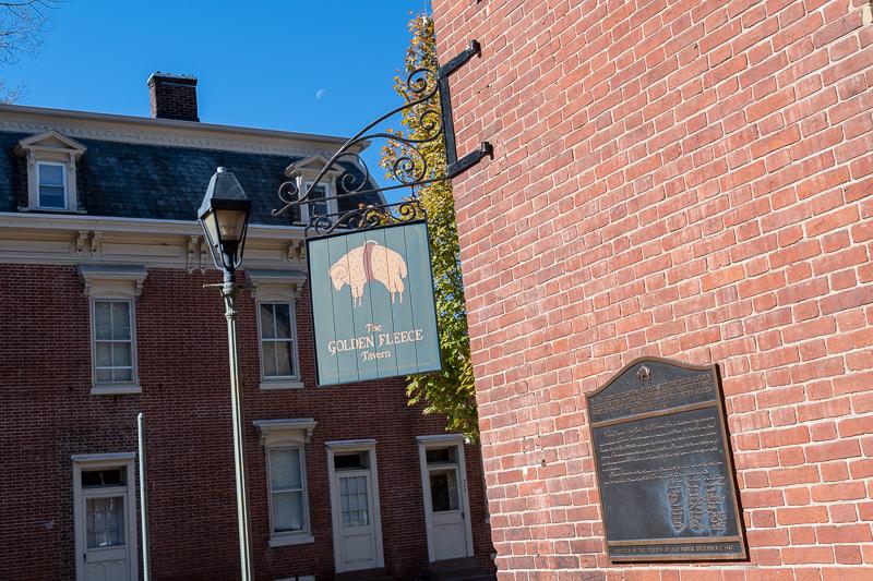 Golden Fleece Tavern Dover Delaware