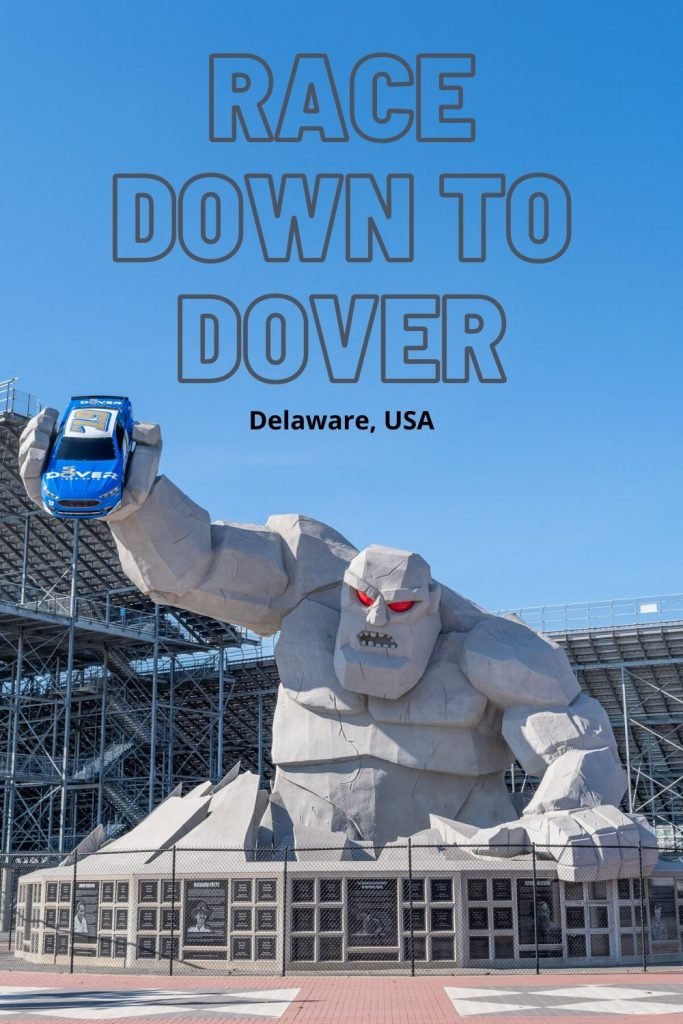Meet Miles the Monster at Dover International Speedway, home of the Firefly Music Festival. While in Delaware's capital, check out all the top things to do in Dover!