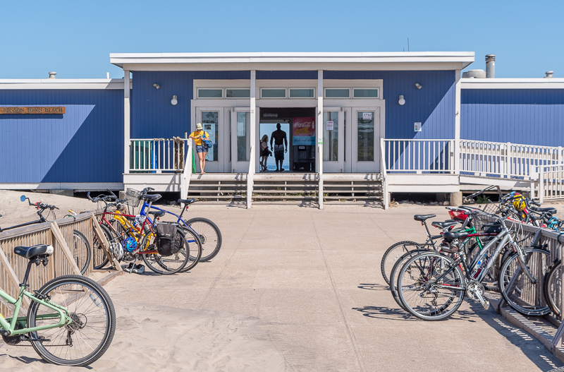 Block Island Biking Racks