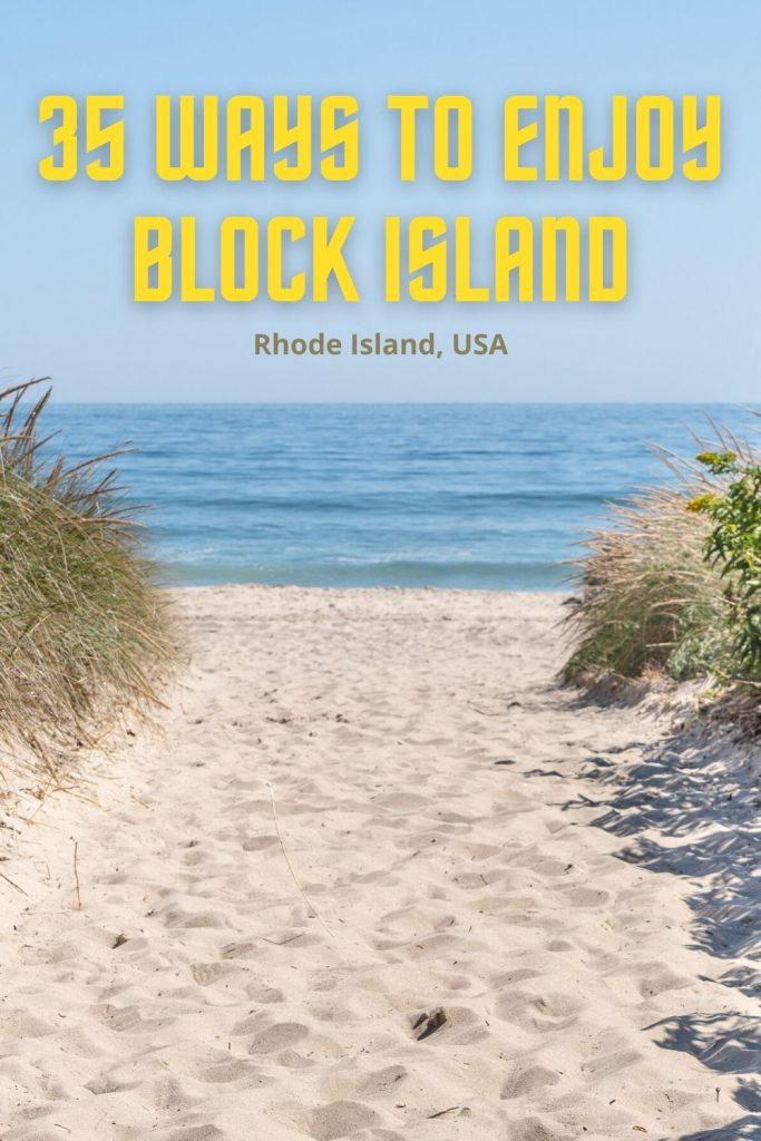 Block Island beaches come in a variety of styles. Party at Ballard's Beach; relax at Mansion Beach; or enjoy the amenities at Fred Benson Town Beach.