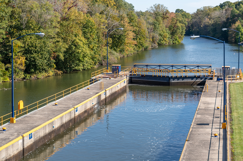 Cayuga Seneca Canal Locks