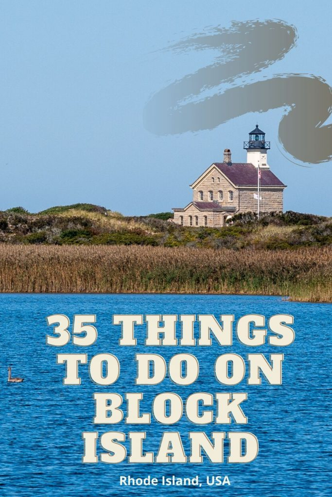 Discover the top 35 things to do on Block Island, Rhode Island. From lighthouses, to beaches, to hiking, and biking there is something for everyone!