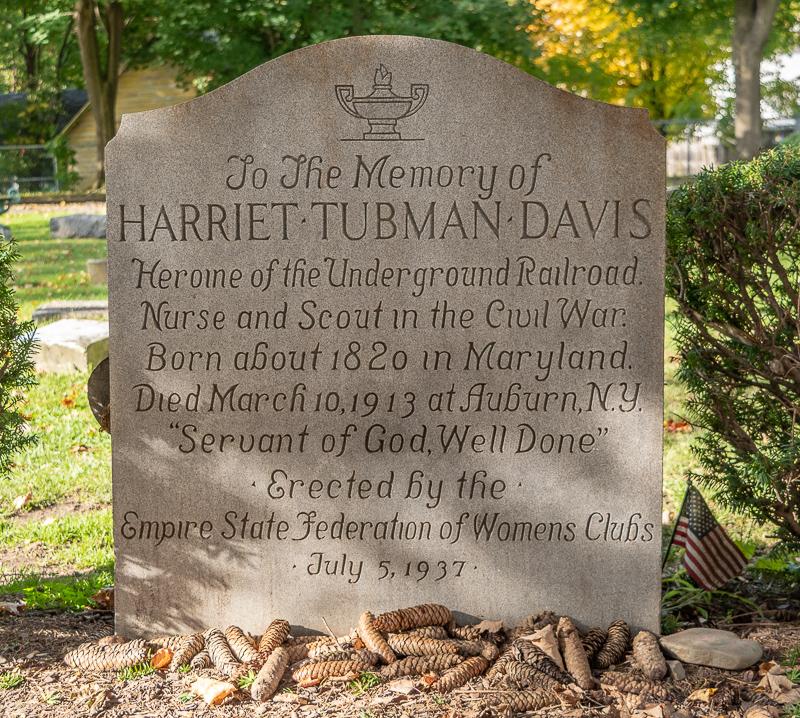 Harriet Tubman Fort Hill Cemetery Grave Auburn NY